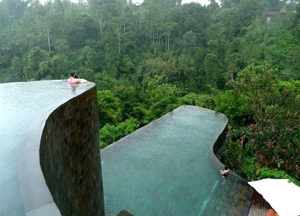 Hangende tuinen van Bali, Indonesië